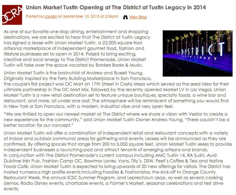 Union Market Tustin Opening at The District at Tustin Legacy in 2014 - OC foodies-1